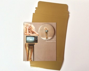 British Vogue Upcled into Pocket Mirror and Greetings Card