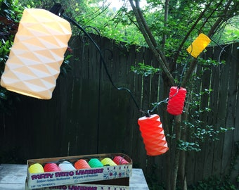 60u0027s Party Patio Lanterns (Two Strands)