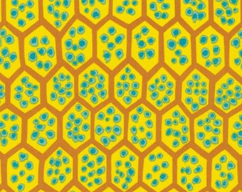 Pomegranate Yellow by Brandon Mably spring 2013 fabric by the yard