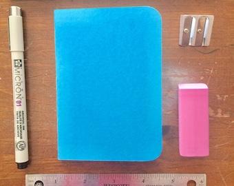 Bulk Blank Notebooks | 3.5 x 5 | Blue Notebook | Notebook | Sketchbook | Journal | Blue Journal | Blue Sketchbook | Travelers Notebook
