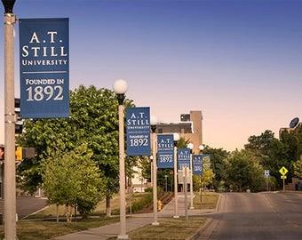 A.T. Still University Photo Print, ATSU Print, Osteopathic Medicine, Graduation Gift, Office Wall Art, Kirksville, Missouri, College Campus