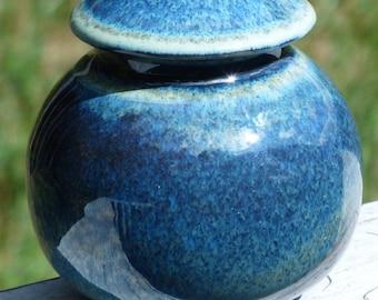Frosty Lidded Jar