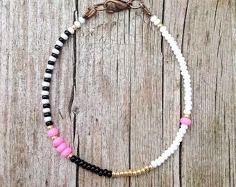 small seed beads, colorful & tender Friendship Bracelet eachlovelyday