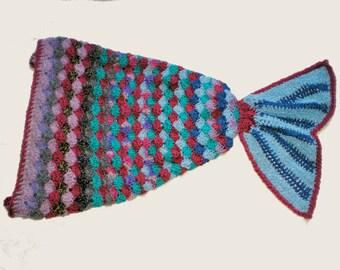 Mermaid Tail Crochet,Mermaid Tail Blanket Kids, Mermaid Tail, Mermaid Kids, Child's Mermaid Tail, Baby Mermaid Tail, Mermaid Tail Blanket