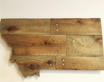 Montana Wooden Wall Decor