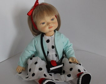 Polina. Author's collectible doll for the interior