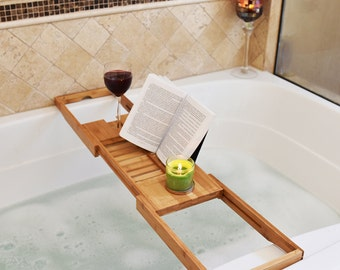 Unique Bathtub Tray Related Items Etsy