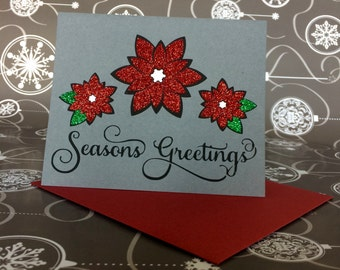 5 Handmade Christmas Card Multipack - You Choose Designs Included (Any Design In My Shop)