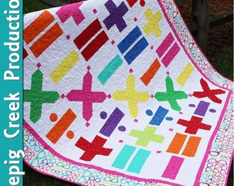 Math Quilt Pattern