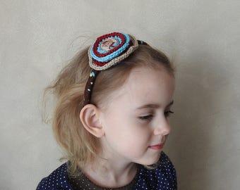 Bear - Headband - Girl Headdress - Baby Girl Head Band - Cute Headband - Animal Headdress - Baby Headband - Bear Gift - Bear Headdress