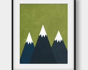 50% OFF Mountains Print, Abstract Mountains Print, The Mountains Are Calling, Mountains Art, Mountains Poster, Scandinavian, Kids Room Decor