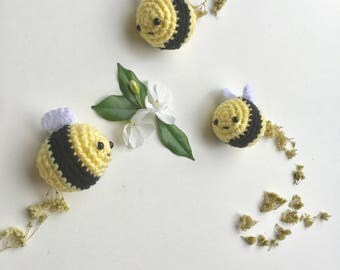 Made to order - Amigurumi Crochet Bee