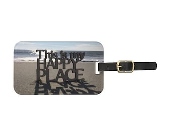 My Happy Place II Luggage Tag