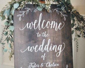 Custom Wedding Sign!