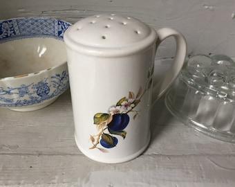 Vintage ceramic flour, sugar sifter, shaker