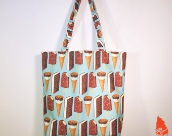 Ice Cream Novelties Pattern Tote Bag