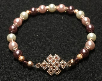 Chinese knot (Rose Gold)
