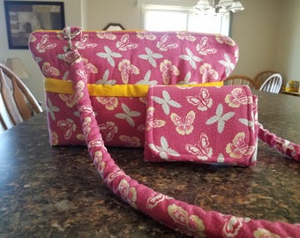 Spring Bag With Matching Wallet