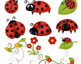Ladybug digital clipart, Ladybug Clip Art, Ladybug Digital, Digital Clipart, Digital Images, Ladybug Digital Clip Art, ladybug graphics