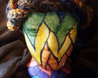 Multicolor braided Headband