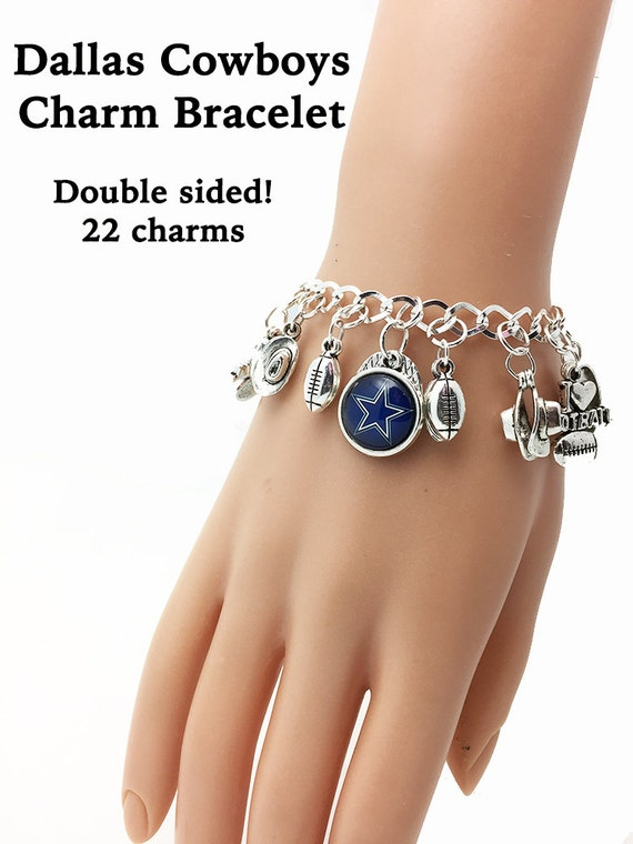 DALLAS  22-Charm Bracelet  **FREE U.S. SHIPPING**