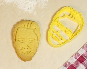 Custom Cookie cutter-Custom cookies cookie cutter Face