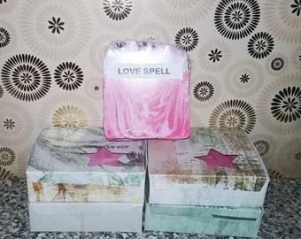 Love Spell (type) handmade soap