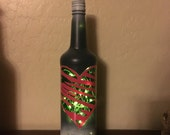 Pink Heart Wine Bottle...