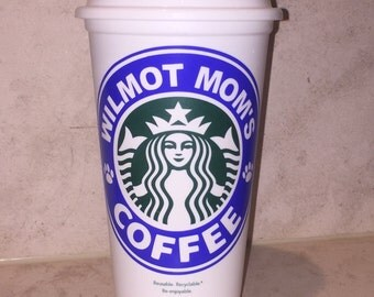 Personalized School Spirit Starbucks Tumblers