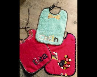 Baby/child personalized bibs