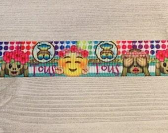 Tous and emoji ribbon