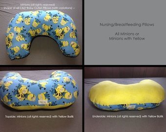 Nursing/Breastfeeding Pillow, Minions Assorted
