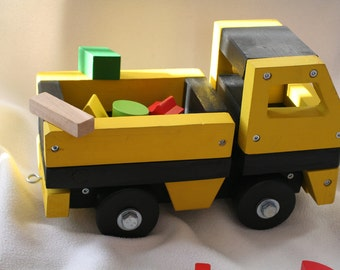 Handcrafted Original Solid Wood Truck