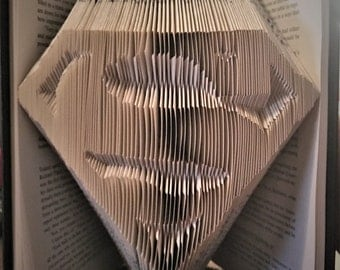 Superman Book Folding