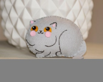 Cat mini plush felt
