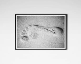 Photographer's right foot