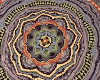 Mandala Madness Afghan/Blanket