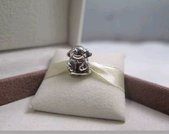 Pandora Little Girl Charm/ New/Fully stamped/ Threaded Core