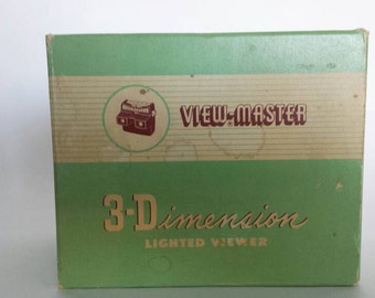 Sawyers View-Master model F lighted viewer