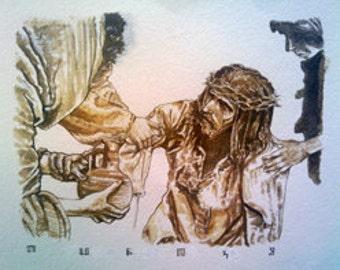 Station Eight - Jesus consoles the women of Jerusalem