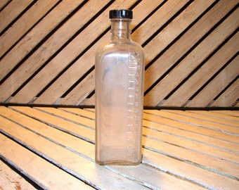 Vintage Embalming Bottle