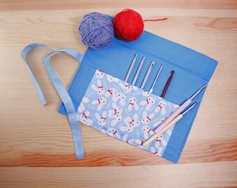 Case Ganchillero, Crochet, crochet needle case and cover needles Crochet, crochet needle