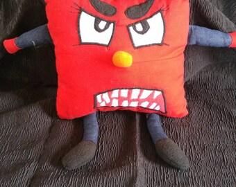 Garnet, child anger puppet puppet hand puppet red puppet cousin