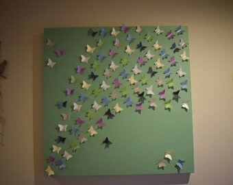 Large Custom Butterfly Canvases