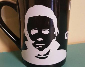 Michael Myers coffee cup