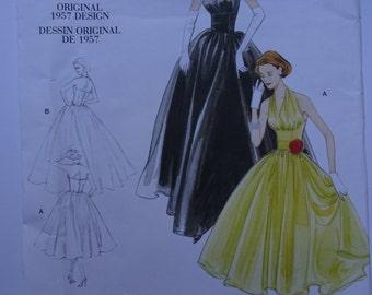 Vogue Vintage Pattern 2962 Sizes 4-6-8-10
