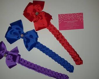 Handmade bun wrap