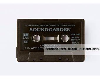 Soundgarden - Black Hole Sun - Photographic Print