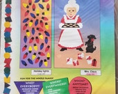 Stik-ees 1994 450 Mrs. Claus decal