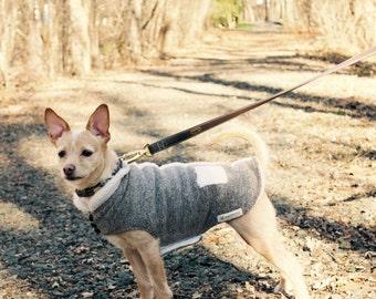 Custom Dog  Coat- Dog Jacket- Fleece/sherpa Dog Coat- Dog Winter Coat